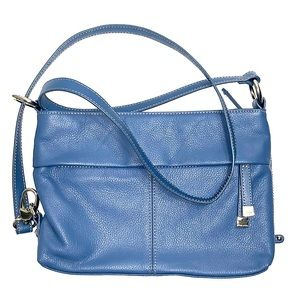 Blue Tignanello Leather Purse NWOT